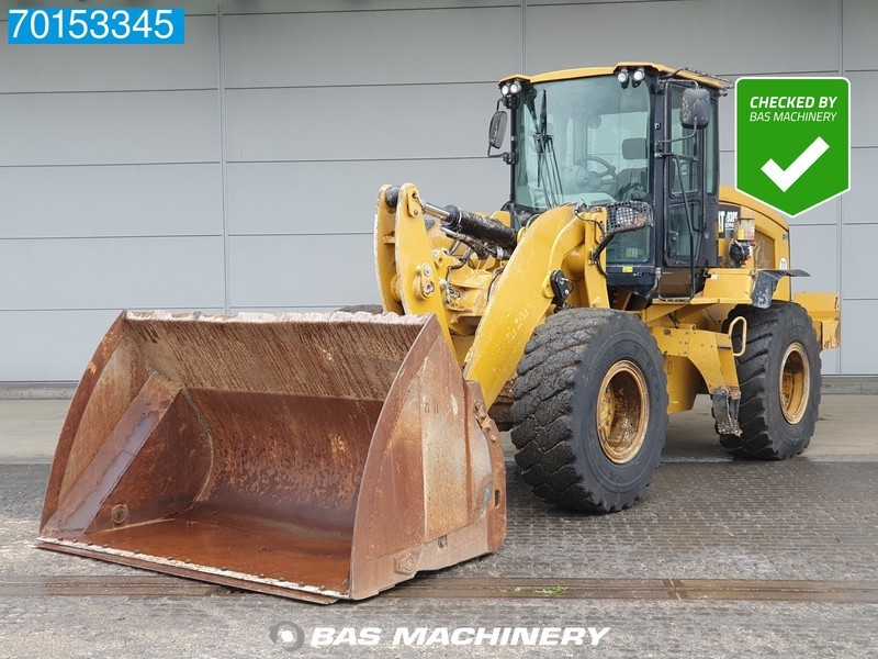 wheel loader Caterpillar 938K GERMAN DEALER MACHINE - HIGH TIP BUCKET