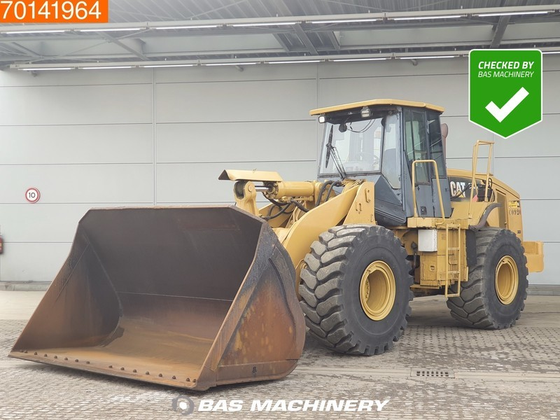 wheel loader Caterpillar 966H FULL STEERING - 80% TYRES
