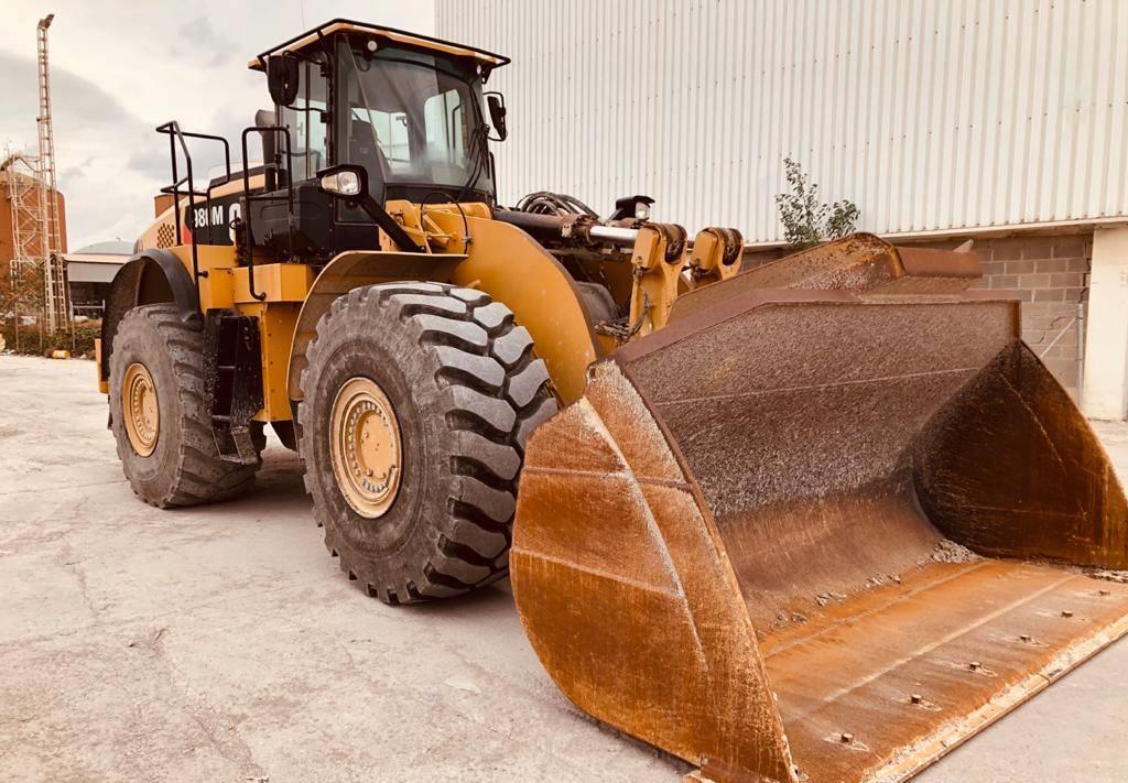 wheel loader Caterpillar 980 M