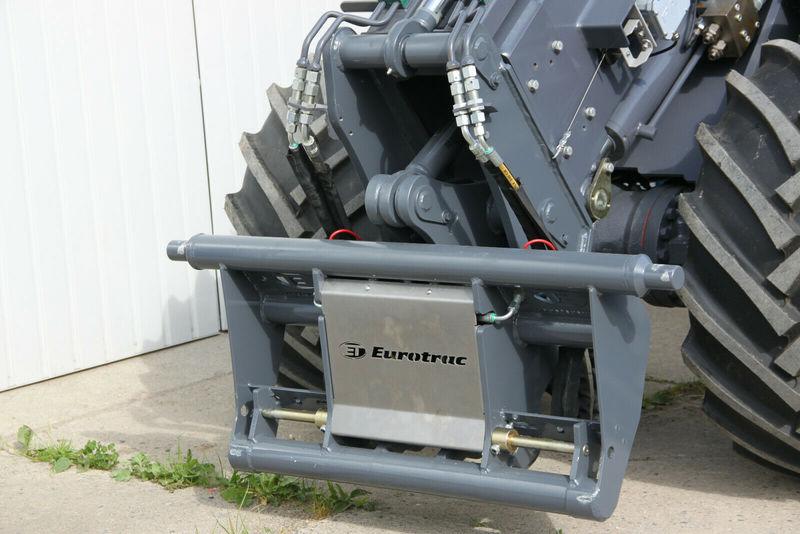 wheel loader Eurotrac T 13 Teleskop Radlader Hoflader
