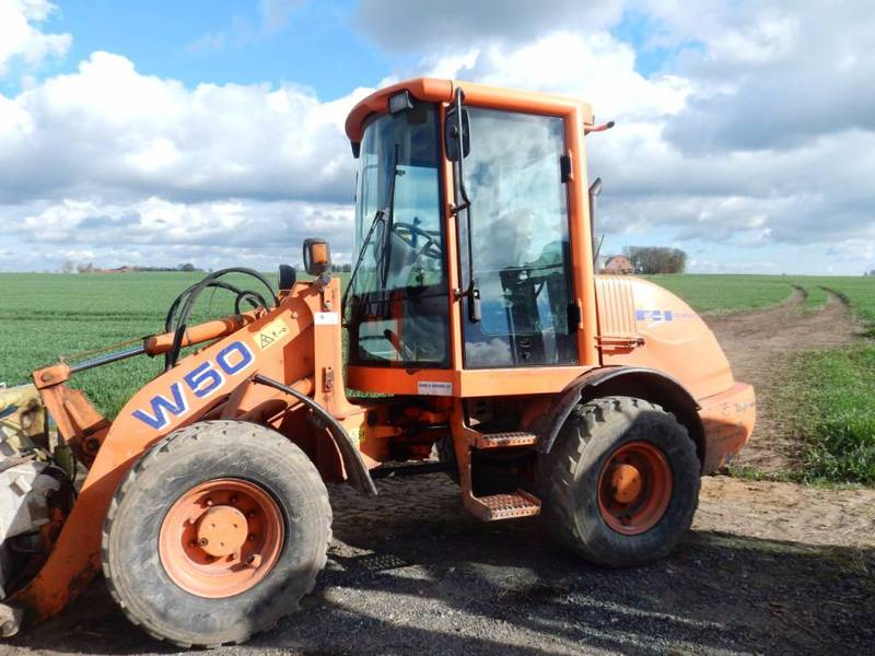 hitachi w50. wheel loader fiat hitachi w50: picture 1 w50 t