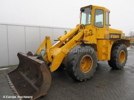 Ford A64 Wheel Loader From Netherlands For Sale At Truck1