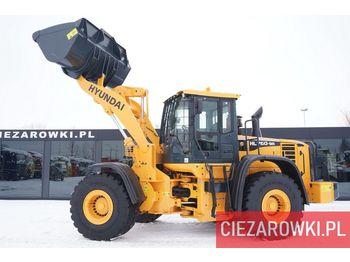 Wheel loader HYUNDAI HL 760-9A , 20t , bucket 2,5m3 , ZF gearbox , joystick , camera