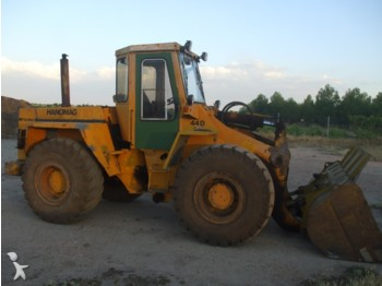 Hanomag 44 D - wheel loader