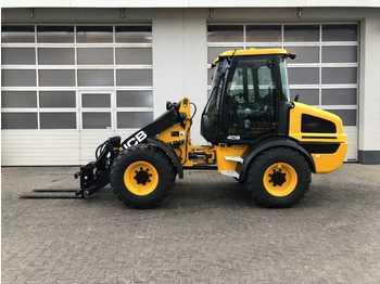 Wheel loader JCB 409 T4 / Palettengabel / Schaufel