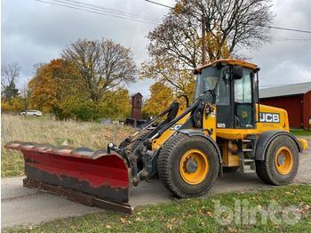 Wheel loader  JCB 411 HT redo för plogning