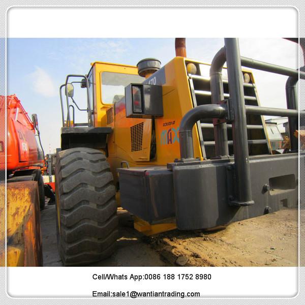 wheel loader KOMARSU WA470