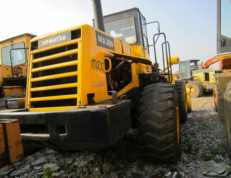 wheel loader KOMATSU WA380