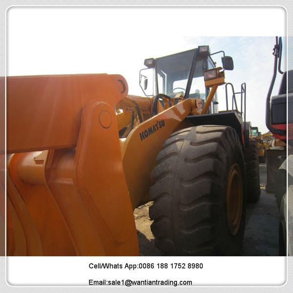 wheel loader KOMATSU WA470