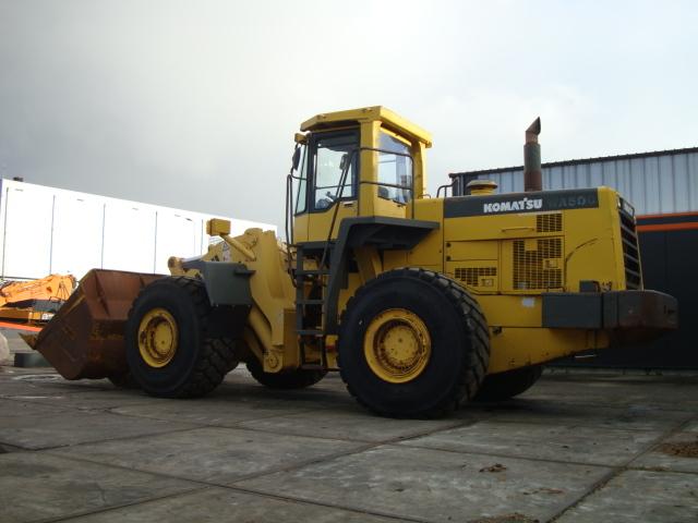 wheel loader KOMATSU WA500-3