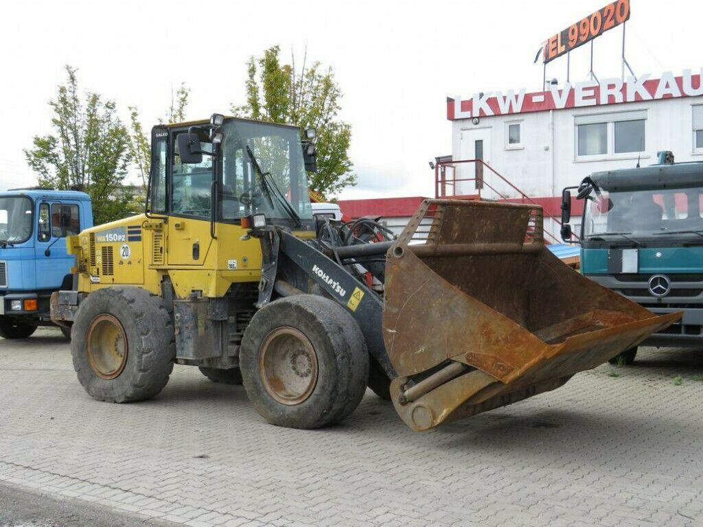 wheel loader Komatsu Radlader WA150PZ-5 Radlader