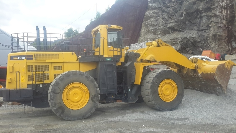 Komatsu Wa 800 3eo Wheel Loader From Norway For Sale At