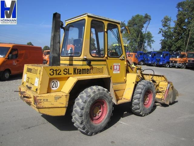 kramer 312 sl wheel loader from germany for sale at truck1 id 865438. Black Bedroom Furniture Sets. Home Design Ideas