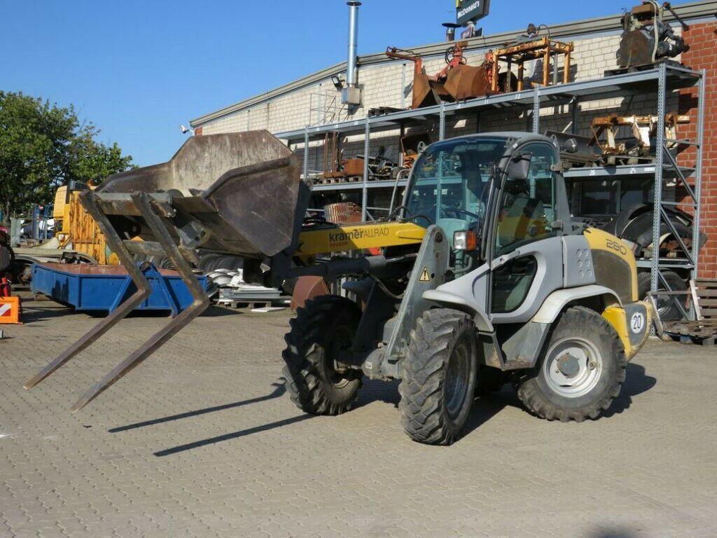 wheel loader Kramer Radlader 280/341 Radlader hydr. Schnellwechsler