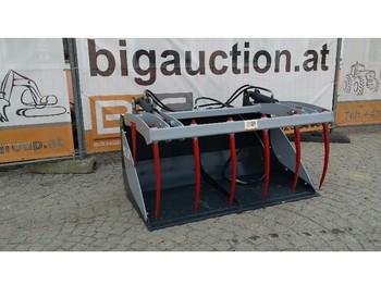 Wheel loader Krokodilschaufel 210 cm passend zu Euro Aufnahme