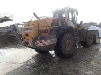 Wheel loader LIEBHERR 580 2plus2