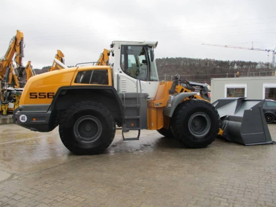 wheel loader LIEBHERR L556
