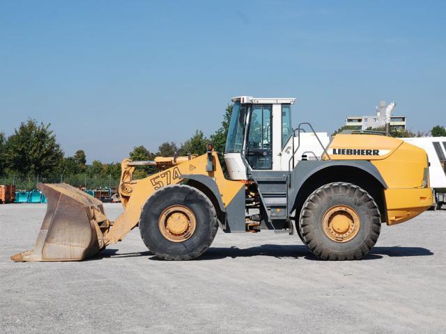 Wheel loader LIEBHERR L574 - Truck1 ID: 701809