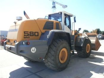 Wheel loader LIEBHERR L580 2plus2