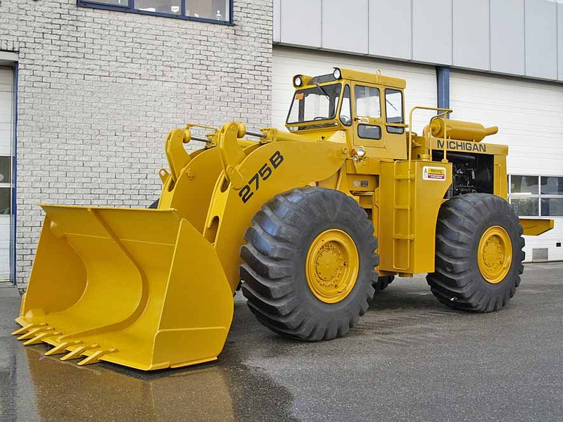 Michigan 275b Wheel Loader From Netherlands For Sale At