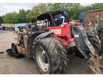 Manitou MLT 735 * FIRE DAMAGE * PARTS  - wheel loader