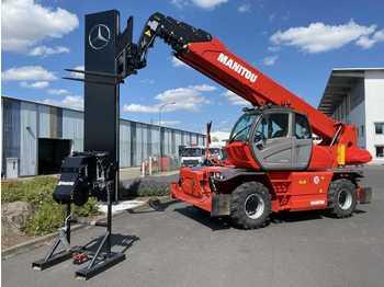 Wheel loader Manitou MRT 3050+ / Winde / Funk / vorb. Fällkopf / 2020