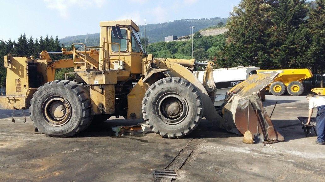 wheel loader PALA CARGADORA CATERPILLAR 988B