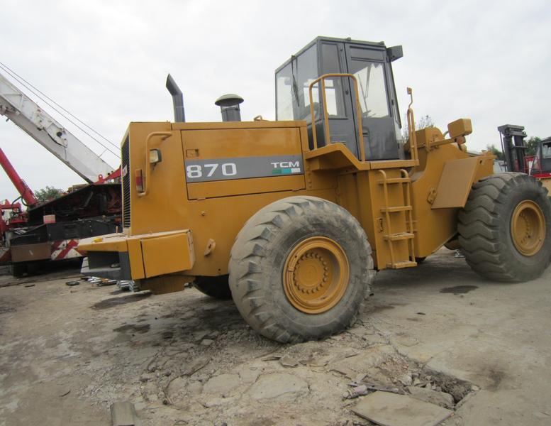 wheel loader TCM 870