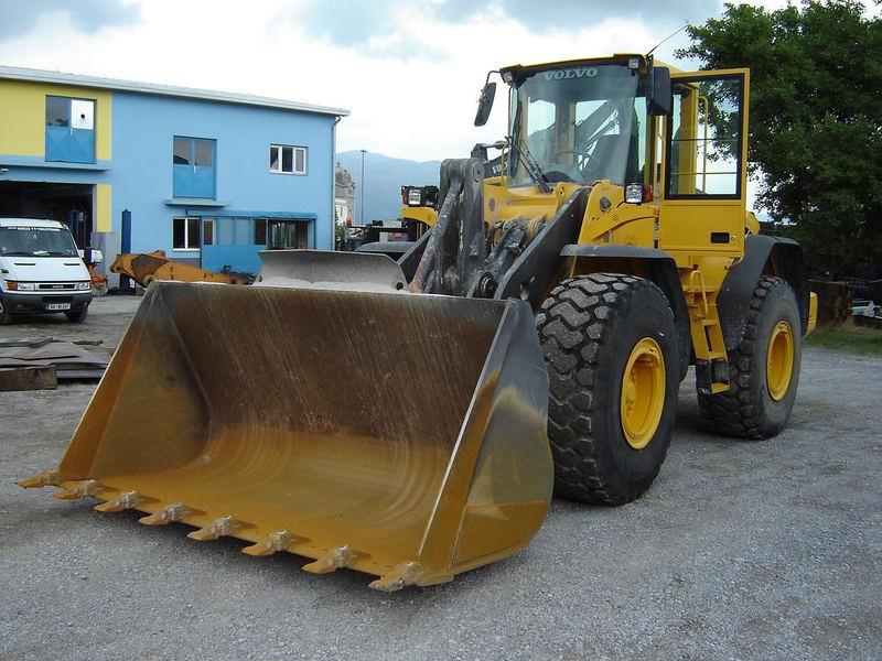 volvo l120e wheel loader from slovenia for sale at truck1 id 775630 rh truck1 eu