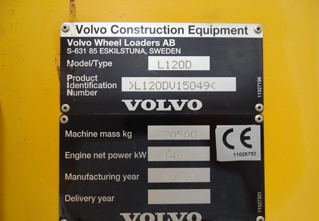 wheel loader Volvo L 120 D
