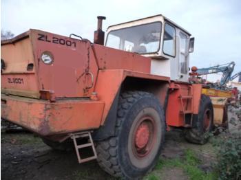 ZETTELMEYER ZL2001, ZL 2001 Radlader, Tires 50 %, Full Working, 14.000 h, Year 1984 - wheel loader