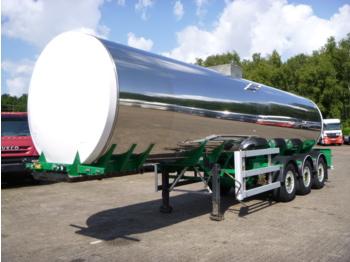 صهريج نصف مقطورة Crossland Food tank inox 30 m3 / 1 comp