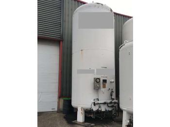 Messer Griesheim GAS, Cryogenic, Oxygen, Argon, Nitrogen - cserélhető felépítmény - tartály