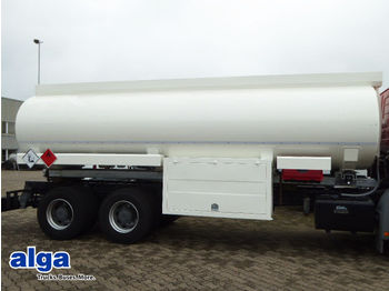 Tankaufbau, 20.000ltr. 4 Kammern, Pumpe Schlauch  - cserélhető felépítmény - tartály