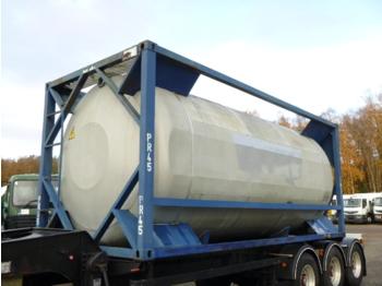 UBH Food (beer) tank container 20 ft / 23.6 m3 / 1 comp - cserélhető felépítmény - tartály