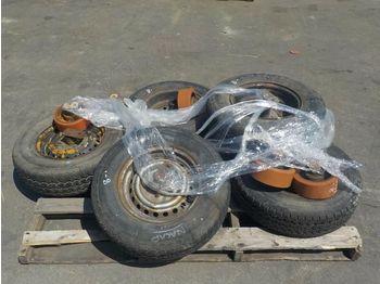 Pallet of 185R14C Trailer Tyres, 200x80 Load Wheels - koło/ opona