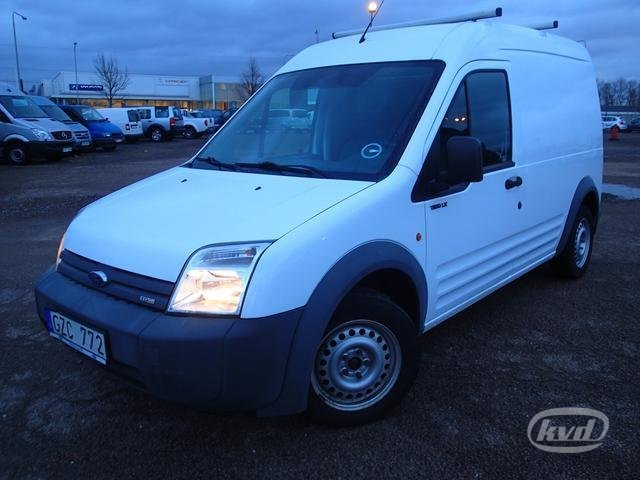 Ford Transit 350m >> Closed box delivery van Ford Transit Connect 1.8 TDCi Skåp (90hk) (Rep.objekt) -08: picture 1