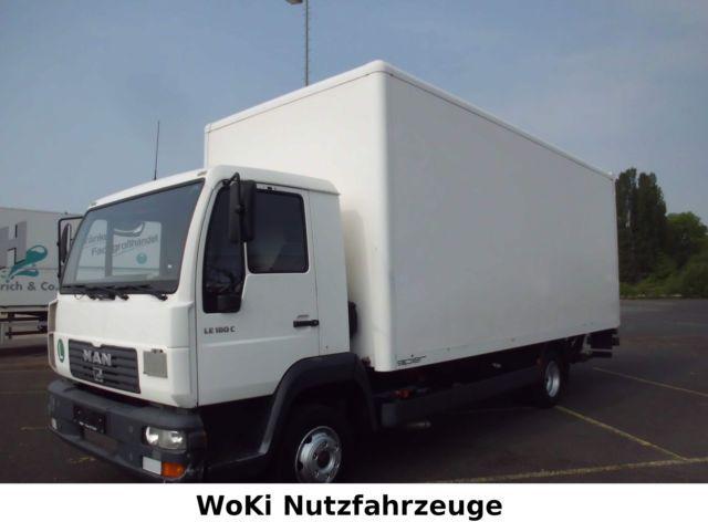 man lc koffer lbw ahk kugel t v neu closed box delivery van from germany for sale at. Black Bedroom Furniture Sets. Home Design Ideas