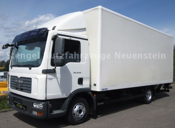 closed box delivery van man tgl 4x2bl luftfederung. Black Bedroom Furniture Sets. Home Design Ideas