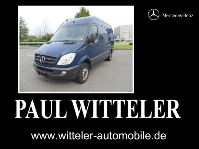 mercedes benz sprinter 316 cdi klima 3 sitzer ahk 3 0 to closed box delivery van from germany. Black Bedroom Furniture Sets. Home Design Ideas