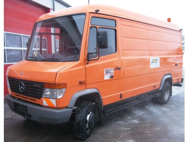 Mercedes Benz Vario 612 D Top Zustand Closed Box Delivery