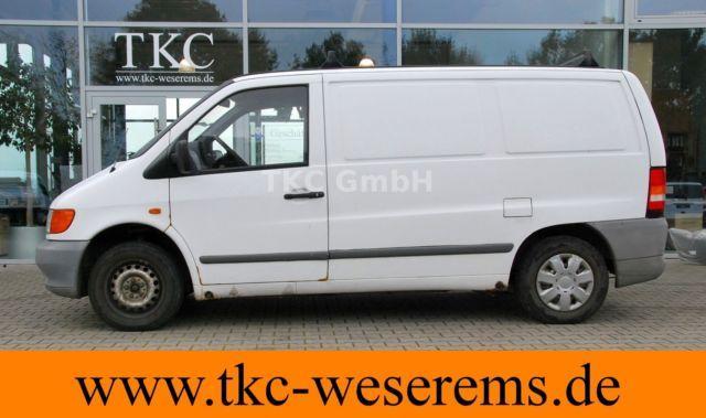 mercedes benz vito 110 d kastenwagen ahk 3 sitzer closed box delivery van from germany for sale. Black Bedroom Furniture Sets. Home Design Ideas