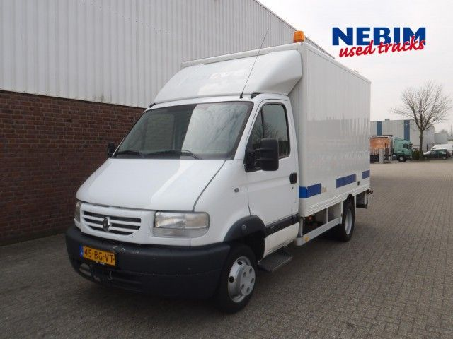 renault mascott 35 130 dci 4x2r service truck closed box delivery van from netherlands for sale. Black Bedroom Furniture Sets. Home Design Ideas