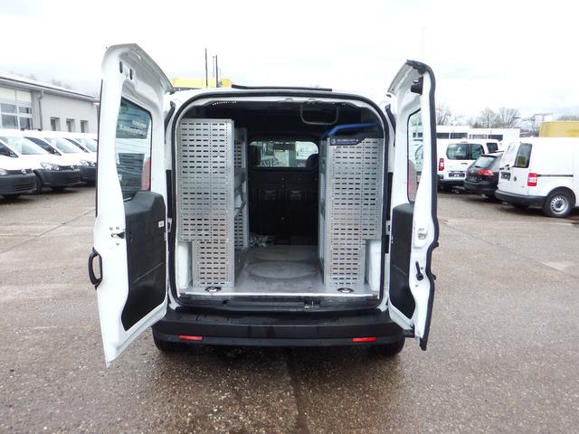 Fiat Doblo Cargo 13l Klima Werkstatteinbau Closed Box Van From