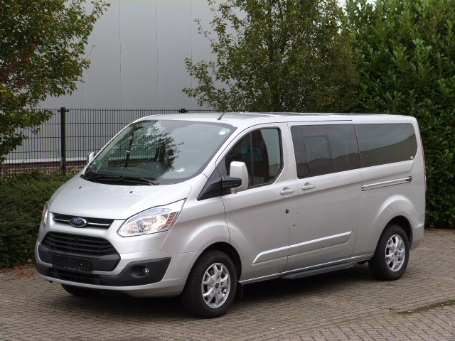ford transit custom titanium 2 2 tdci dubbel cabine l closed box van from netherlands for sale. Black Bedroom Furniture Sets. Home Design Ideas
