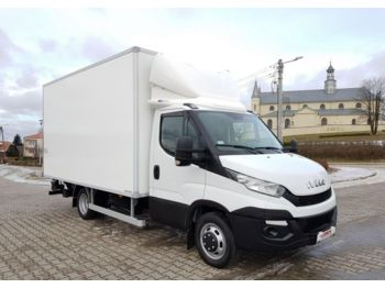 Closed box van Iveco Daily