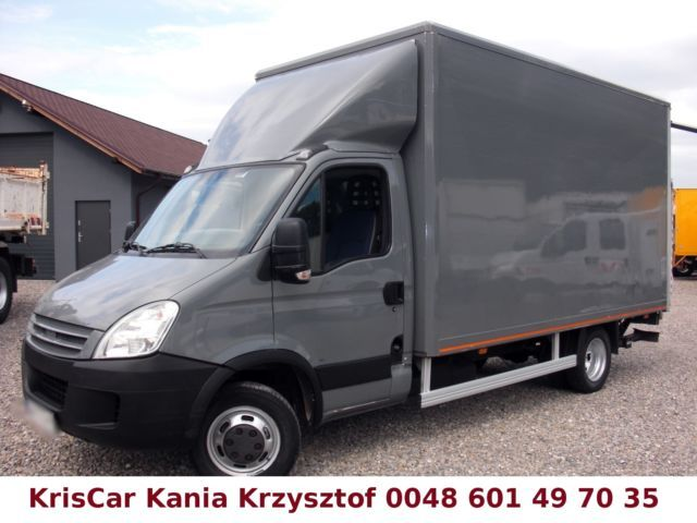 Closed Box Van Iveco Daily 35c12 Koffer 8 Pallets Lbw Picture 1