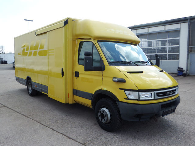 iveco daily 5t 65 c 14 p saxas aufbau closed box van from. Black Bedroom Furniture Sets. Home Design Ideas
