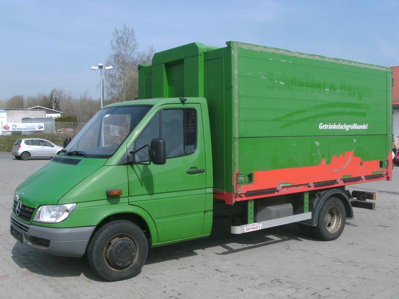 MERCEDES BENZ Sprinter 616 CDI Koffer Getränke * grüne Plakette ...