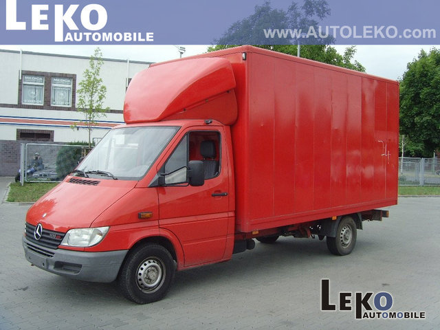 mercedes benz sprinter 308 cdi koffer closed box van from. Black Bedroom Furniture Sets. Home Design Ideas